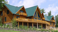 wholesale log homes and log cabins